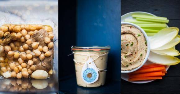 Hummus im Standmixer zubereiten
