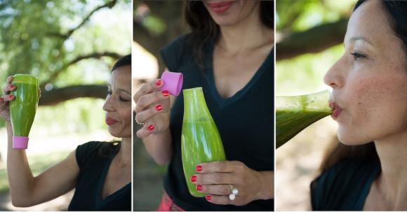 Retap Flasche mit auslaufsicherem Verschluss