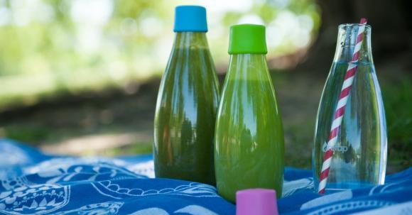 Retap Flasche: Glas To-Go